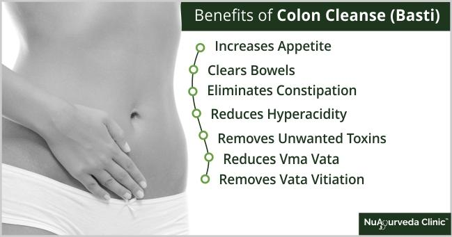 ayurvedic basti or colon cleanse or colon hydrotherapy