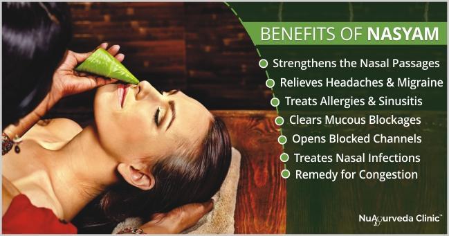 nasyam ayurvedic therapy